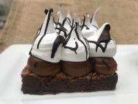 Porción Torta Brownie