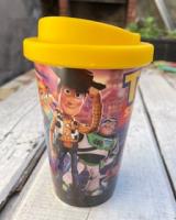 Vaso plástico con tapa Toy Story