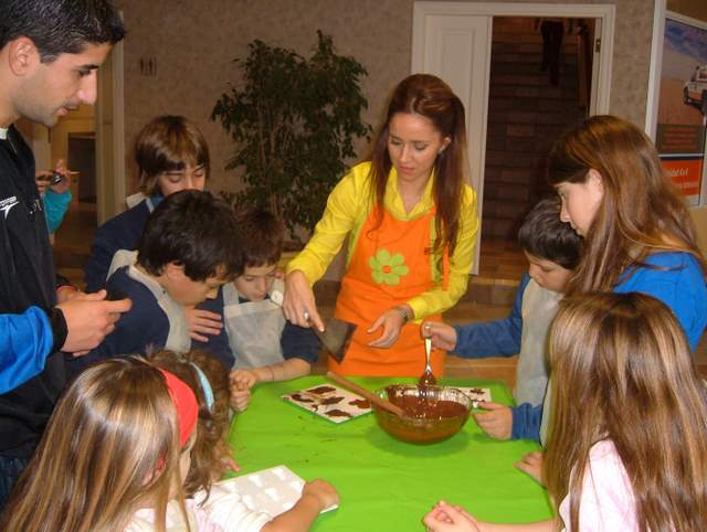 taller chicos chocolate