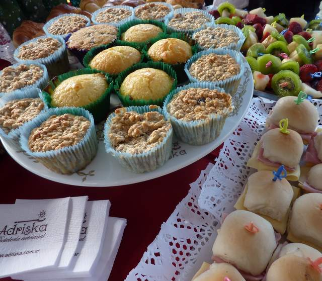 sandwichs y muffins