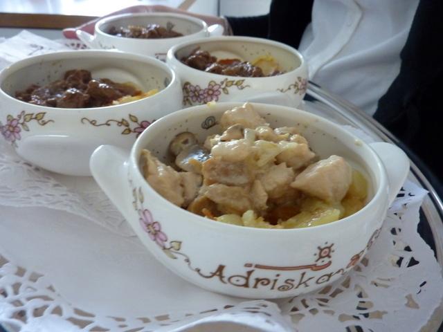 pollo al champignon